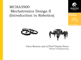 lecture slides lectures week 1 10 mechatronic system design ii
