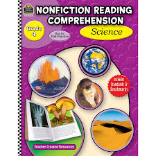 nonfiction reading comprehension science grade 4 tcr8022