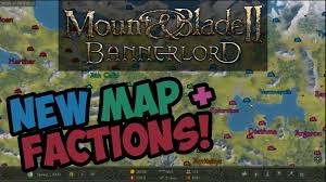 mount and blade map mount and blade 2 bannerlord map factions