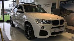 2017 bmw x3 20d m sport exterior and interior review youtube