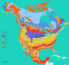 Map Of Canada And United States by Ontimezonecom Time Zones For The Usa And North America Printable