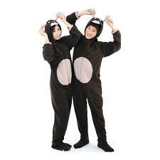 black deer onesie unisex footed pajamas sleepsuit