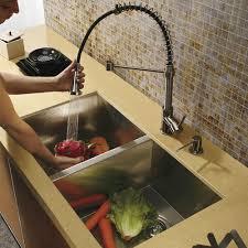 vigo kitchen faucet vg15017 vigo vg15017 undermount stainless steel kitchen sink