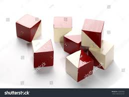 color of intelligence iq test intelligence old cubes color stock photo edit now