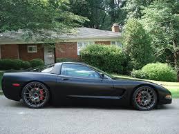 c5 corvette black matte black c5 project finally done corvetteforum chevrolet