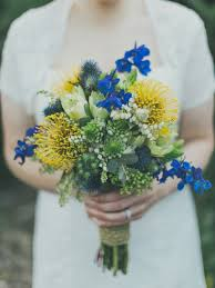 Bridal Bouquet Ideas 18 Yellow And Blue Bridal Bouquet Ideas For 2017 You Can U0027t Get