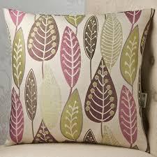 leaves 24x24 cushion cover