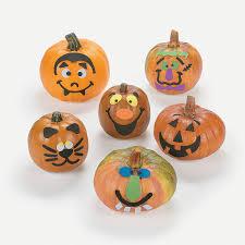 small pumpkin face craft kit small pumpkins craft kits and