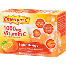 What Color Is An Orange Amazon Com Emergen C Dietary Supplement Drink Mix With 1000mg