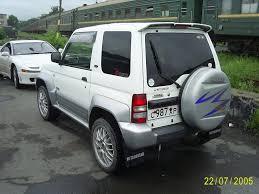 mitsubishi pajero 1998 1998 mitsubishi pajero junior pictures 1100cc gasoline