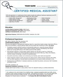 Medical Assistant Sample Resumes by Sample Resumes For Medical Assistant Sample Resumes