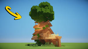 AWESOME TREE HOUSE  Minecraft Tutorial  YouTube