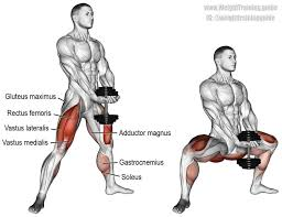Muscles Used During Bench Press Best 25 Sumo Squats Ideas On Pinterest Squats Muscles Worked