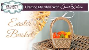 basket easter how to make a paper easter basket crafting my style with sue
