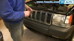 1997 jeep parts how to install replace fog lights 1997 98 jeep grand