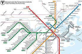 map of boston subway a definitive ranking of the boston subway lines