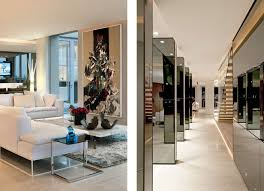 luxury sandhurst towers penthouse in johannesburg by saota and
