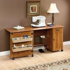 White Sewing Machine Cabinet by Furniture Sewing Rite Adjustable White Sewing Craft Table