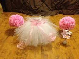 Centerpieces For Baby Shower by Tutu Skirt For Baby Shower Decorations Baby Showers Pinterest