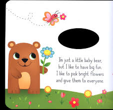 adventures of the little koala learning is fun cut through book little baby bear u0027s big adventure