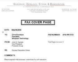 fax cover letter microsoft word 2007 cover letter sample