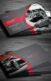 Easy Business Card Design Rent A Car Business Card Design Business Cards Design