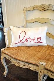 i love us pillow burlap pillow valentines day wedding gift