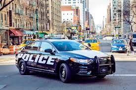 nypd ford fusion ford introduces electrified responder hybrid sedan ny