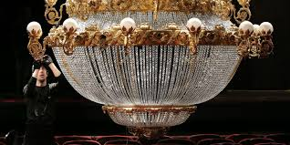 paris opera house chandelier phantom u0027 filled with remarkable voices sets