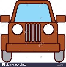 christmas jeep silhouette jeep stock vector images alamy