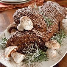 cuisine de de noel bûche de noël viking range llc