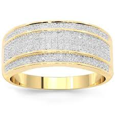 mens gold diamond rings mens diamond wedding bands avianne co