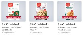 modern table mac and cheese target better than free modern table meals meal kit and mac