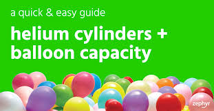 capacity helium cylinders u0026 balloon capacity a quick u0026 easy guide