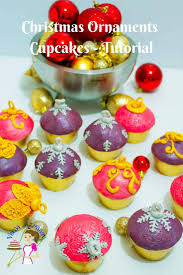 how to make ornament cupcakes treats