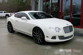 bentley continental rims bentley continental gt with 22in lexani gravity wheels exclusively