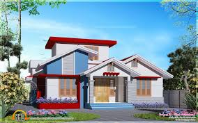 single house designs one storey house plans in kerala best of simple single house