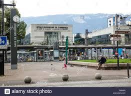 ecole chambre de commerce the tram terminus and the ecole superieure de commerce business
