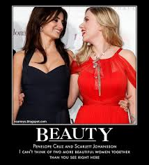 Scarlett Johansson Meme - nsaney z posters ii penelope cruz and scarlett johansson