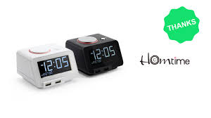 Minimalist Alarm Clock by C2 4 In 1 Alarm Clock With Wireless Bed Shaker By Nathan Rd