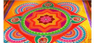 rangoli patterns using mathematical shapes fabulous and colorful rangoli designs for holi
