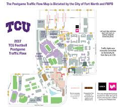 tcu football parking