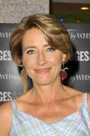 hairstyles for 54 year old emma thompson s face framing haircut haute hairstyles for women