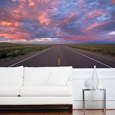 national geographic 106 in x 76 in african sunset wall mural 4 w highway wall mural