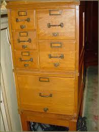 wooden filing cabinet vintage home design ideas