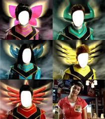 photo montage power rangers mystic force pixiz