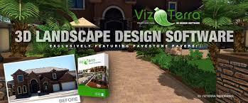 3d designer software vizterra 3d professional landscape design software