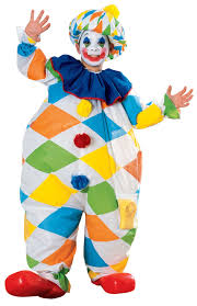 inflatable clown kids costume mr costumes