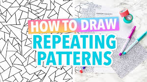how to draw repeating patterns hack hgtv handmade