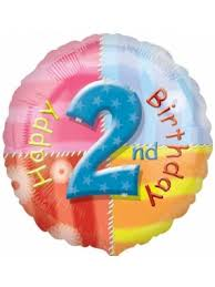 send birthday balloons in a box two s and tot s birthday balloons birthday balloons send a